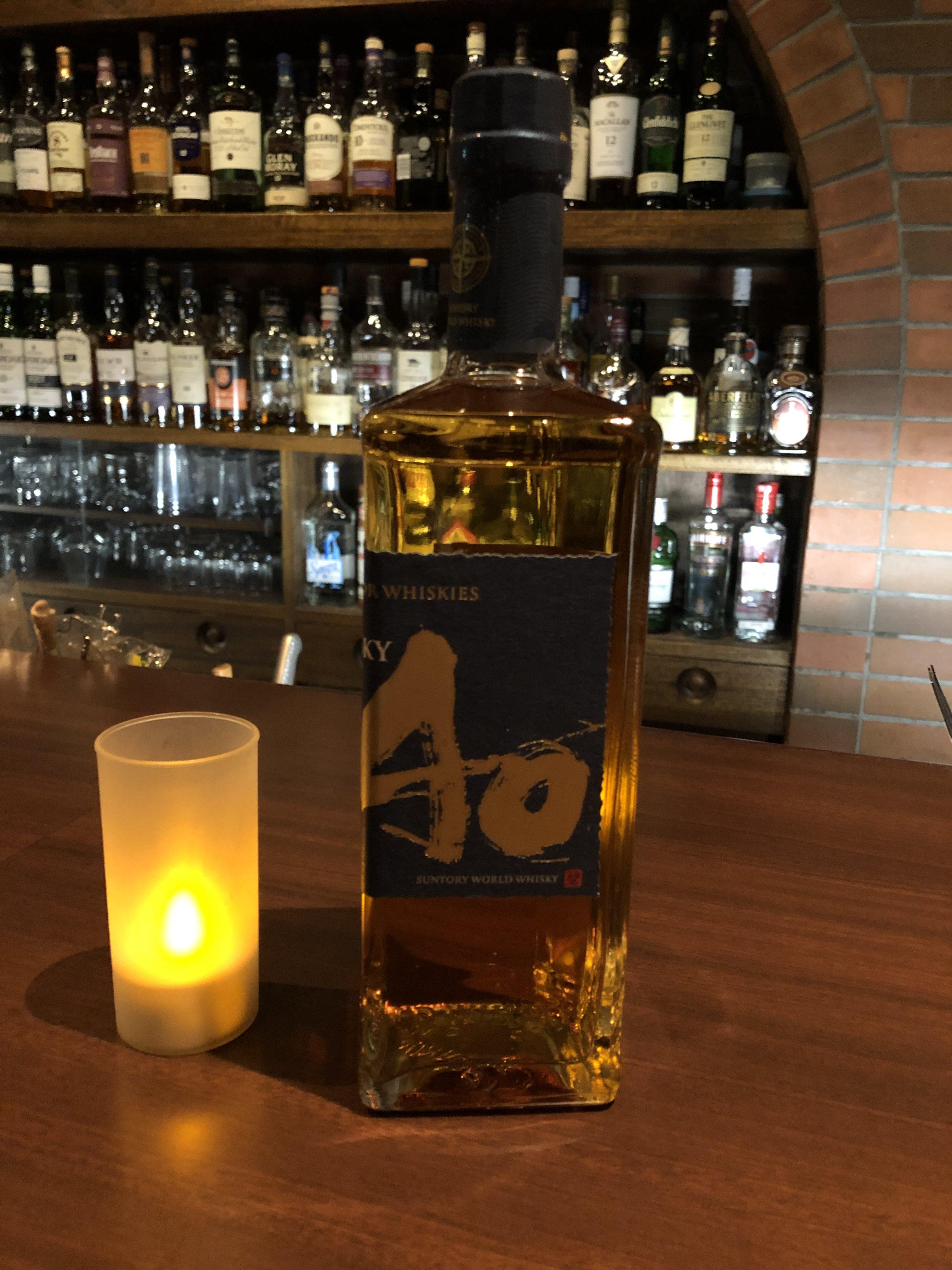 世界5大ウイスキーをブレンド して作られたウイスキー!